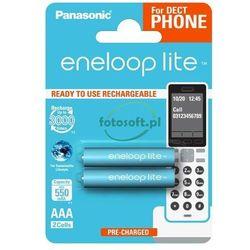 Akumulator PANASONIC Eneloop Lite R03 AAA 550mAh 2szt.