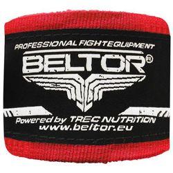 Beltor bandaż bokserski bawełniany czerwony