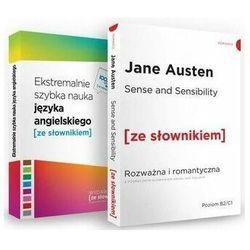 Sense and Sensibility / Ekstremalnie szybka nauka języka angielskiego. Pakiet - książka