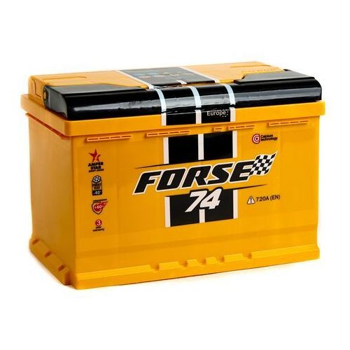 Akumulatory samochodowe, Akumulator FORSE 74Ah/720A