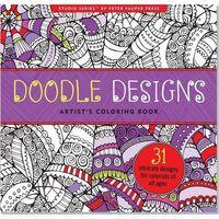 Kolorowanki, Kolorowanka Artystyczna Gryzmoły Doodle Design