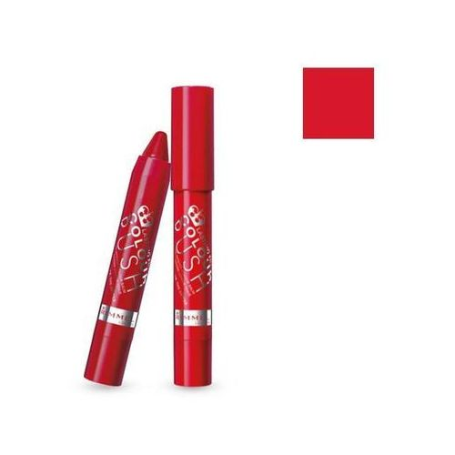 Szminki, RIMMEL Lasting Finish Colour Rush Balm pomadka do ust w kredce 500 The Redder The Better 2,5g