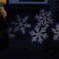 Ozdoby świąteczne, Projektor bozonarodzeniowy LED Sneeuwstorm bialy