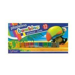 Plastelina Bambino 12 kolorów. Darmowy odbiór w niemal 100 księgarniach!