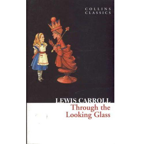 Książki do nauki języka, Through the looking glass (opr. miękka)