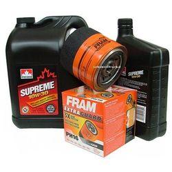 Filtr oleju FRAM PH16 oraz olej SUPREME 10W30 Chrysler Cirrus Stratus 2,5 V6