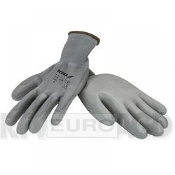 Rękawice robocze DEDRA BH1009R10 Szary (rozmiar XL)