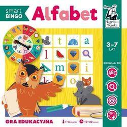 Gra edukacyjna alfabet smart bingo kapitan nauka