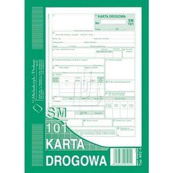 """Druk """"Karta Drogowa Samochód Osobowy"""" A5 MICHALCZYK I PROKOP 802-3"""