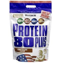 WEIDER Protein 80 Plus - 500g - Raspberry