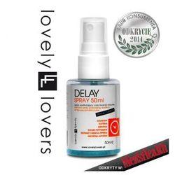 Lovely Lovers Delay Spray Płyn opóźniający wytrysk 50 ml 650050 Odkryty w Men's Health