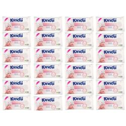 CLEANIC 60szt Kindii Sensitive Chusteczki nawilżane dla dzieci i niemowląt 24x