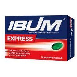 IBUM EXPRESS 400MG 36 KAPSUŁEK
