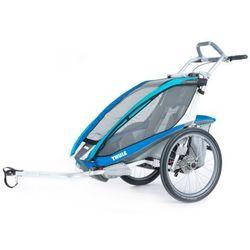 Thule Chariot CX 1 Przyczepka rowerowa Chariot CX 1 + zestaw rowerowy, blue 2019 Przyczepki dla dzieci