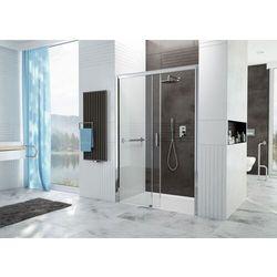 Sanplast Free Zone drzwi wnękowe 130 cm prawe przesuwne D2P/FREEZONE-130-S biewW0 600-271-3180-01-401