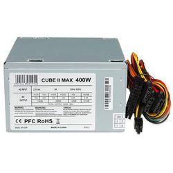 Zasilacz I-BOX CUBE II 400W (ZIC2400W12CMFA) Szybka dostawa! Darmowy odbiór w 20 miastach!