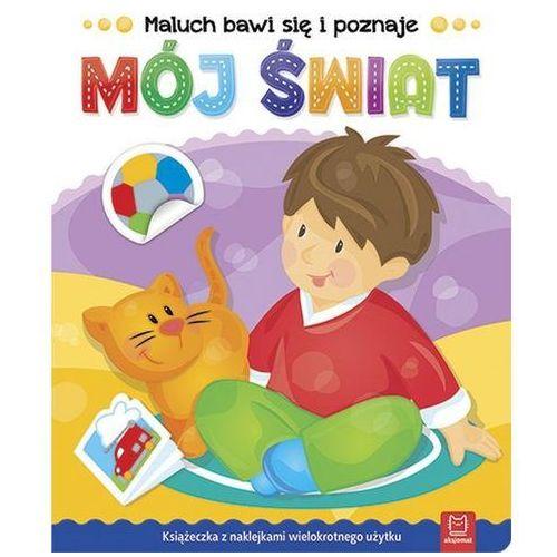 Książki dla dzieci, Maluch bawi się i poznaje Mój świat - Praca zbiorowa (opr. miękka)