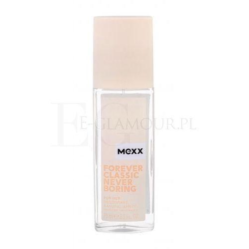 Dezodoranty damskie, Mexx Forever Classic Never Boring for Her - dezodorant z atomizerem 75 ml