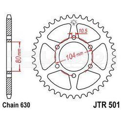 Zębatka tylna stalowa JT 501-41, 41Z, rozmiar 630 2300201 Kawasaki Z 1000, Z 650
