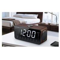 Radiobudziki, Muse M-196DWT Black, Alarm function, AUX in, Clock radio PLL with Bluetooth, NFC