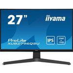 IIYAMA Monitor 27 cali XUB2796QSU-B1,IPS,QHD,IPS,1ms,HDMI,DP,FreeSync,USB
