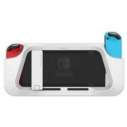 Baseus SW Shock-resistant | Etui obudowa podstawka do Nintendo Switch - Biały