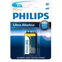 Baterie, bateria alkaliczna Philips Ultra Alkaline 6LR61 9V (blister)