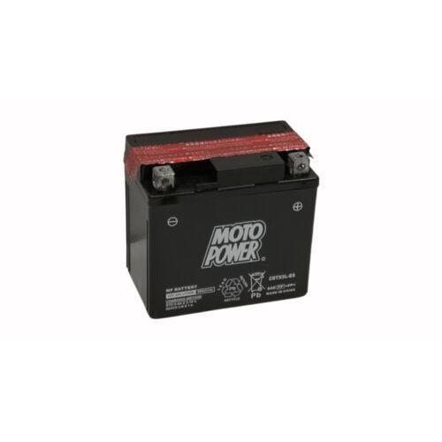 Akumulatory do motocykli, Akumulator motocyklowy Moto Power CBTX5L-BS YTX5L-BS 12V 4Ah 80A EN P+