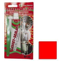 Silikon GASKET-SEALANT wysokotemperaturowy 80 ml Czerwony DEN BRAVEN