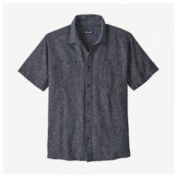 Patagonia koszula męska back step shirt - rozmiar xs - kolor grafitowy