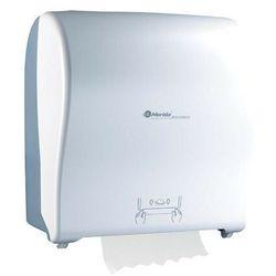 Mechaniczny podajnik ręczników papierowych w roli Solid Cut Automatic Maxi- biały połysk