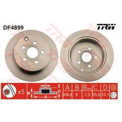 TARCZA HAM TRW DF4899 TOYOTA CELICA 1.8 16V VT-I 99-, PRIUS 1.5 03-