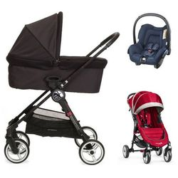 Baby Jogger City Mini 4W+gondola+fotelik (do wyboru)+GRATIS