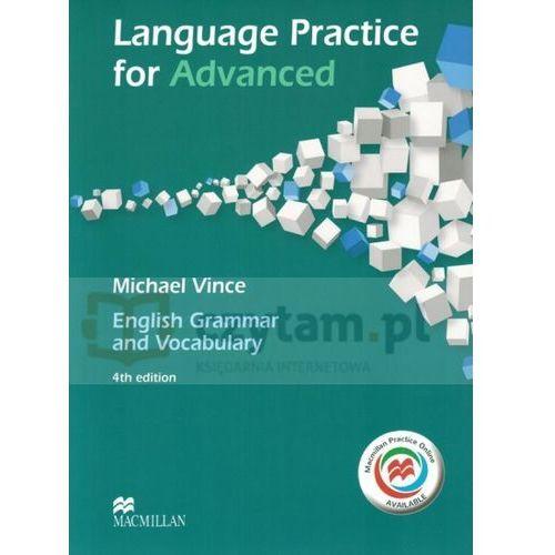 Książki medyczne, Language Practice for Advanced. Podręcznik bez Klucza + Kod do Ćwiczeń Online (opr. miękka)