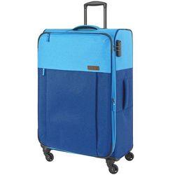 Travelite Neopak walizka duża poszerzana 77 cm / niebieska - niebieski