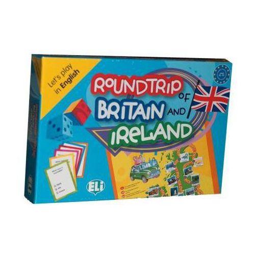 Książki do nauki języka, Gra Językowa Roundtrip Of Britain And Ireland - English (opr. kartonowa)