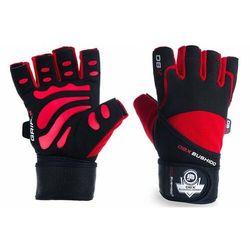 Rękawice na siłownię rękawiczki do ćwiczeń bushido - M/L/XL