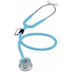 Stetoskop MDF Pulse Time 740 z zegarem - błękitny