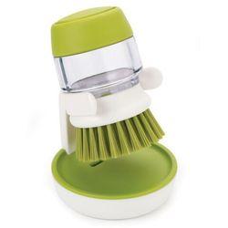 Szczotka do mycia naczyń z pompką Joseph Joseph biało-zielona