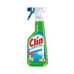 Płyn do czyszczenia okien z alkoholem Clin Windows and Glass jabłko 500 ml rozpylacz
