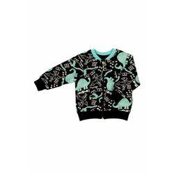 Czarna bluza boomerka w dinozaury 5F40AH Oferta ważna tylko do 2031-05-19