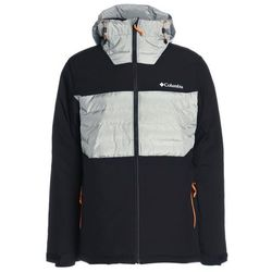 Columbia WHITE HORIZON HYBRID JACKET Kurtka narciarska black/grey heather