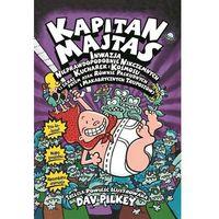 Książki dla dzieci, Kapitan Majtas: Inwazja Nieprawdopodobnie Nikczemnych Kucharek z Kosmosu (i zaraz potem atak Równie - Dav Pilkey (opr. miękka)