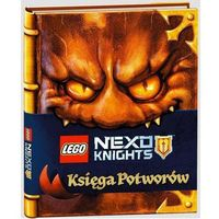 Książki dla dzieci, Lego Nexo Knights Księga potworów - John Derevlany, Mark Hoffmeier (opr. twarda)