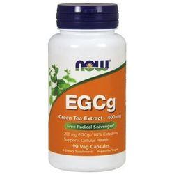 Suplement prozdrowotny NOW Foods EGCg Green Tea Extract 400 mg 90 kaps