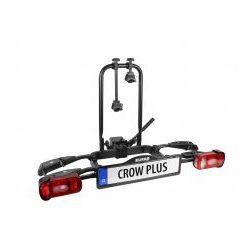 Składany uchylny bagażnik na rowery EUFAB CROW PLUS, uchwyt na hak