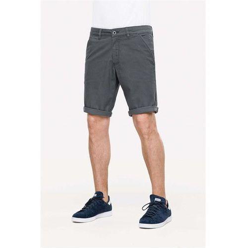 Pozostała odzież męska, szorty REELL - Flex Chino Graphite Grey (Graphite Grey) rozmiar: 34