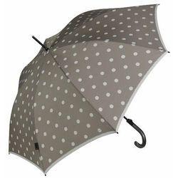 Knirps T.703 stick automatic Parasol na kiju, długi 88 cm dot art taupe ZAPISZ SIĘ DO NASZEGO NEWSLETTERA, A OTRZYMASZ VOUCHER Z 15% ZNIŻKĄ