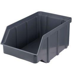 Plastikowy pojemnik warsztatowy - wym. 156 x 100 x 756 - kolor szary