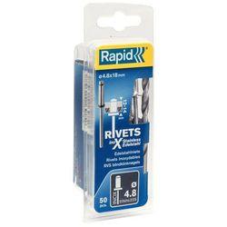 Nity Rapid stal nierdzewna śr. 4,8 x 18 mm 50 szt.